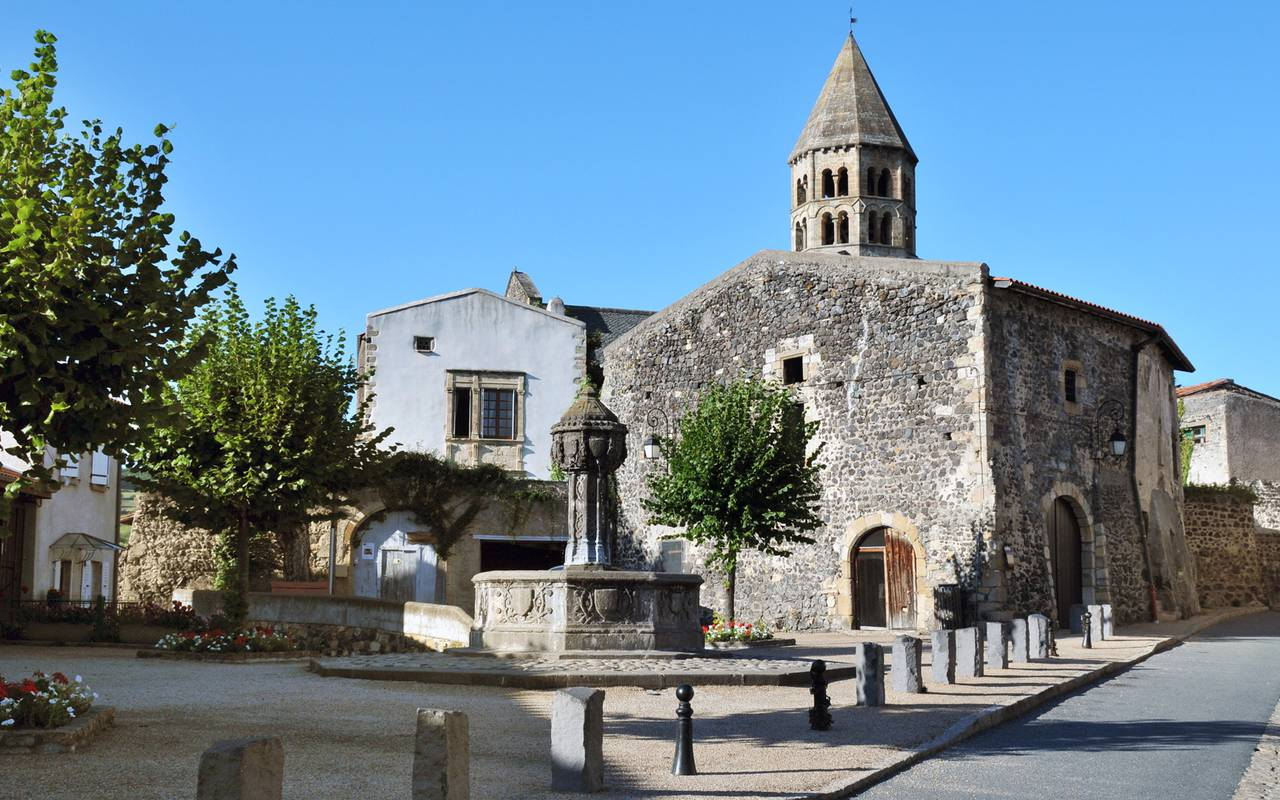 village saint saturnin castle, guest house in Auvergne