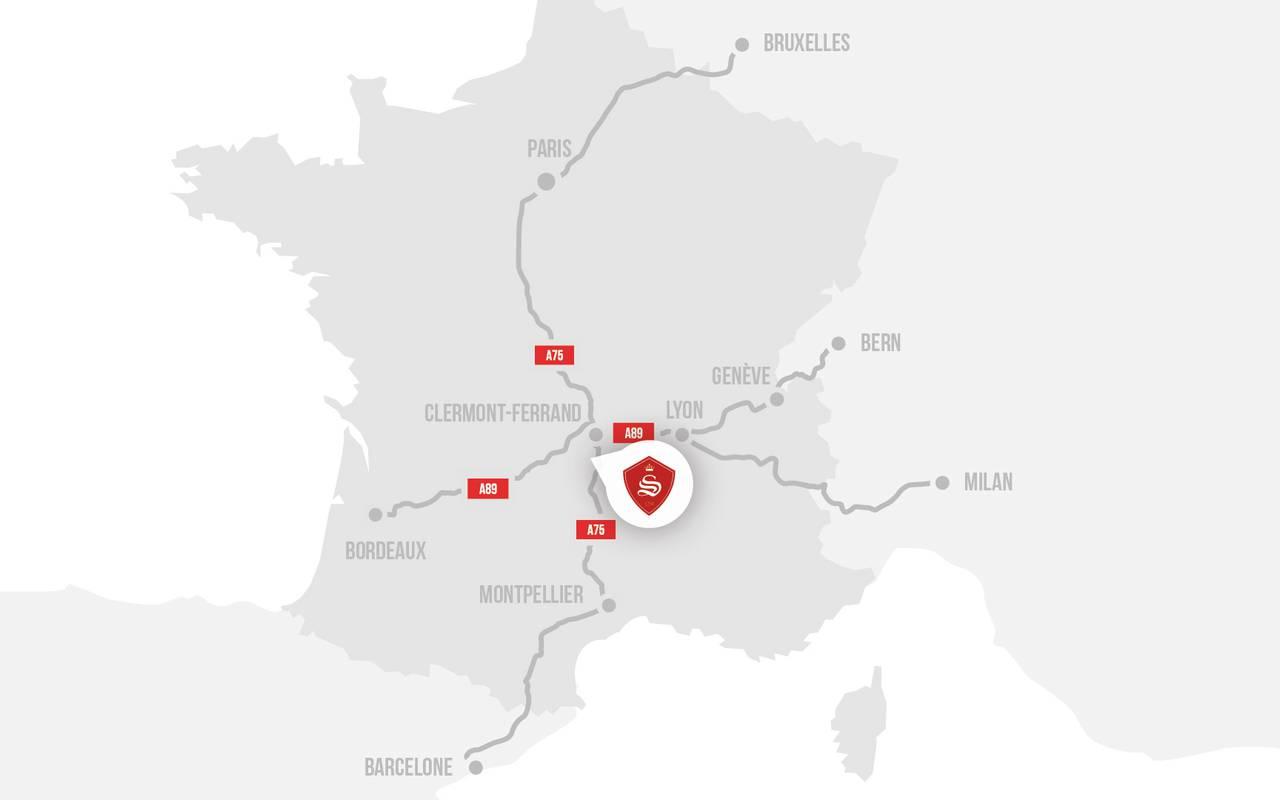 carte chateau saint saturnin