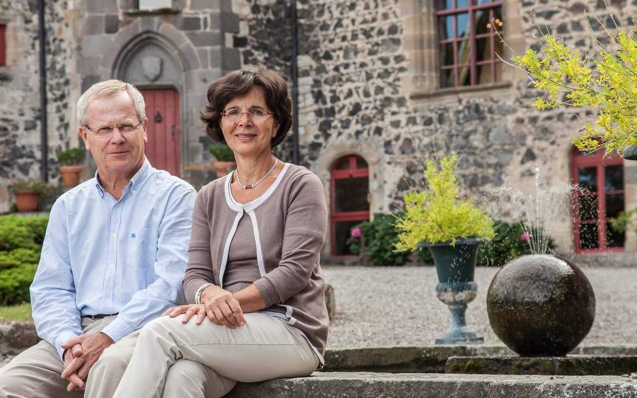 Propriétaires de la maison d'hôtes en Auvergne