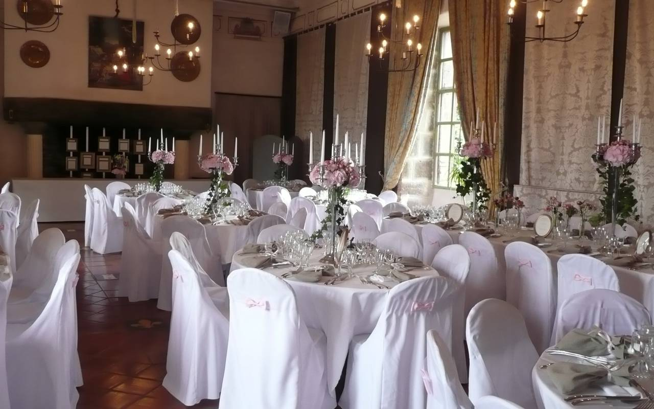 room wedding decoration castle