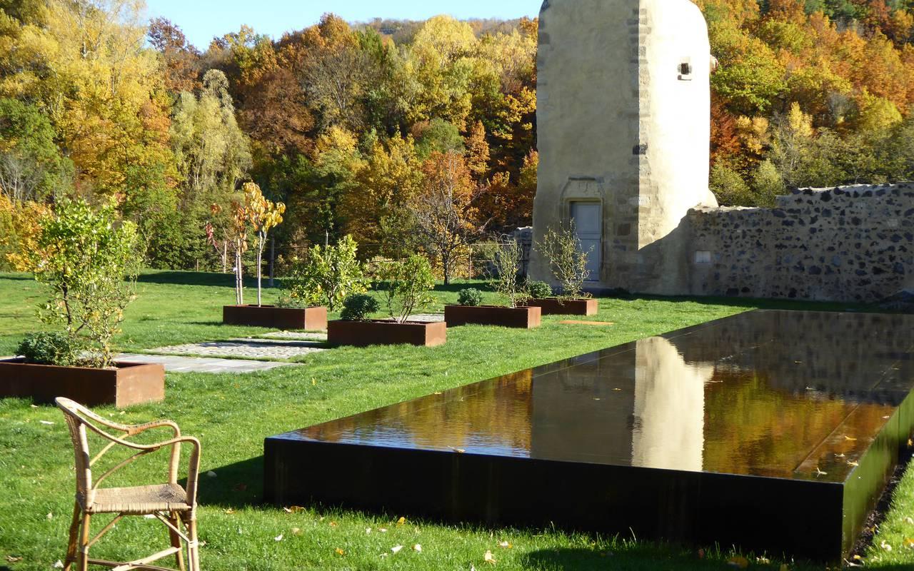 calme nature maison d'hôtes en Auvergne