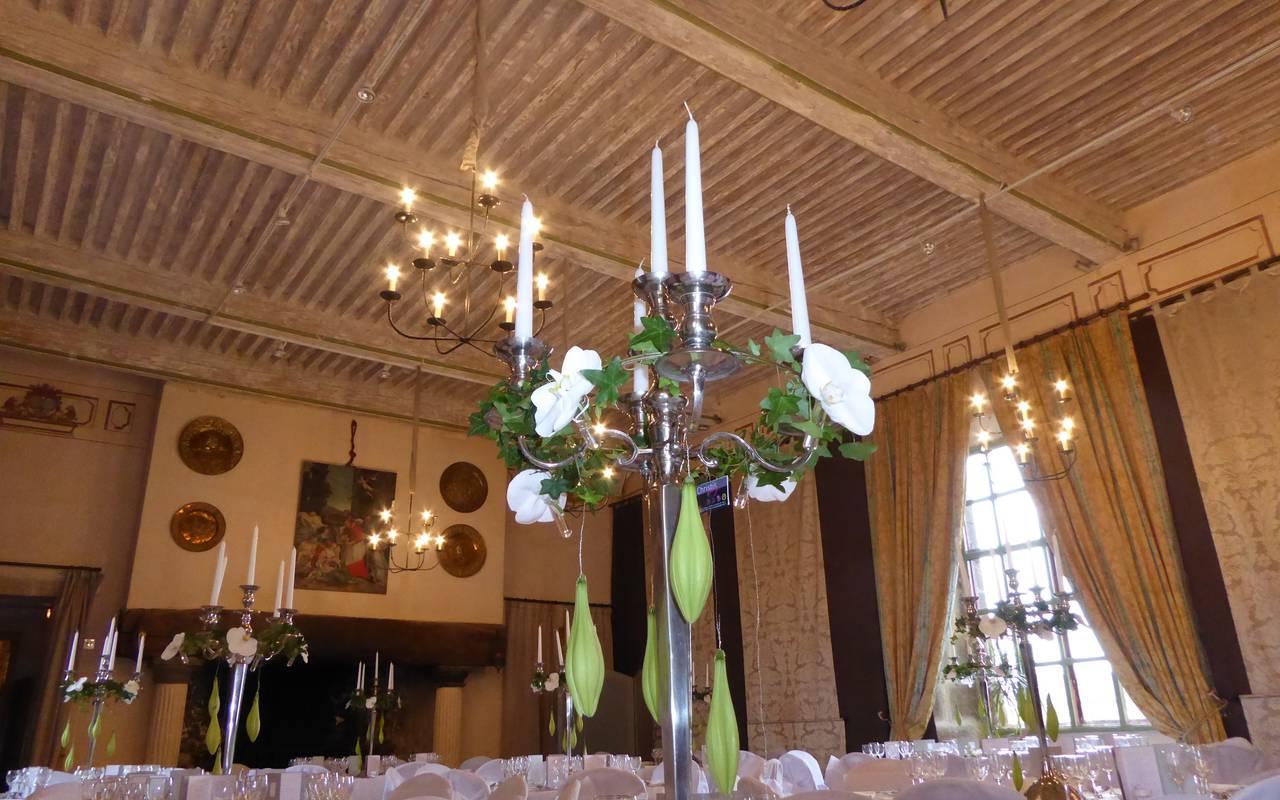 salle de réception chateau saint saturnin