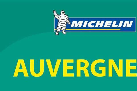Michelin Green Guide Auvergne 2018